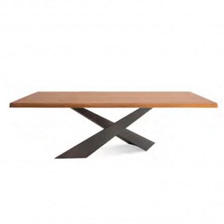 Riflessi - Tavolo Living - Piano in legno
