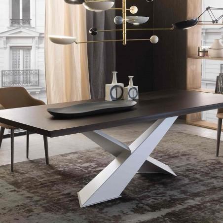 Riflessi - Table Living - Plateau en bois