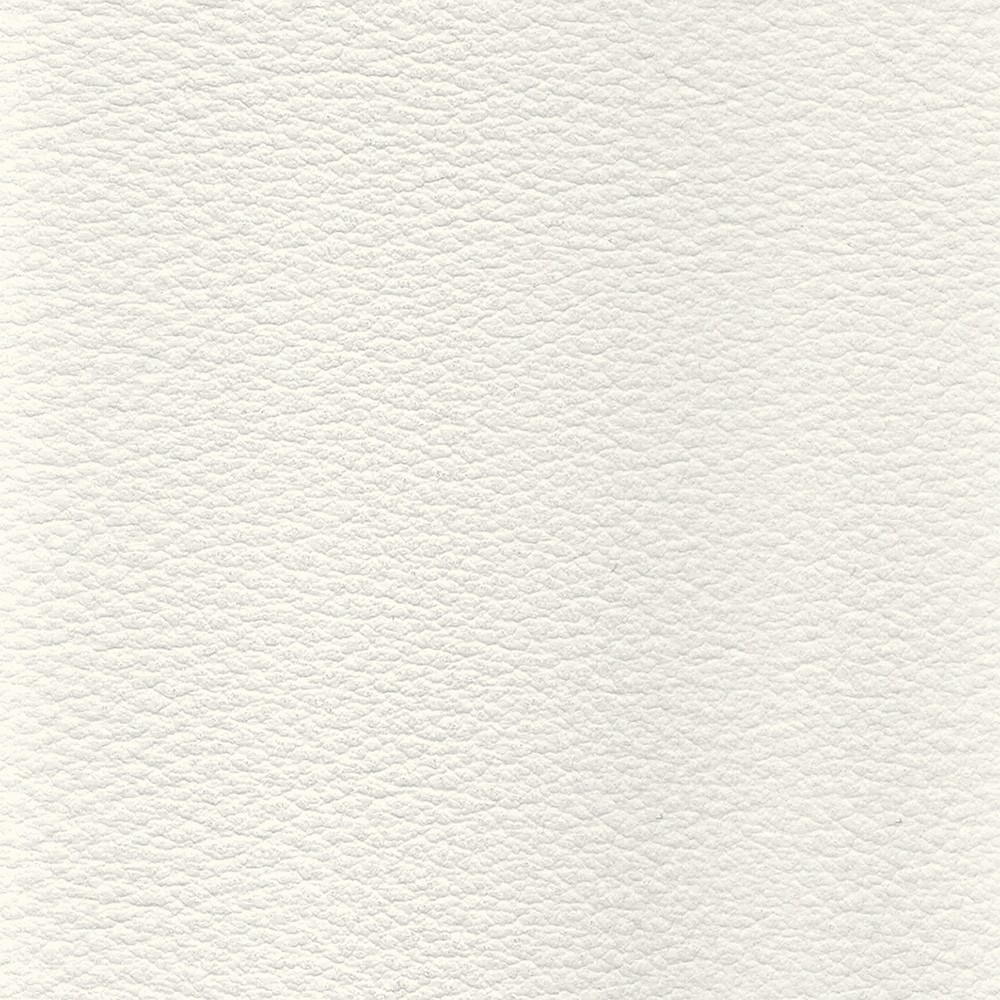 White MDF leather