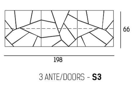 66 x 198 cm