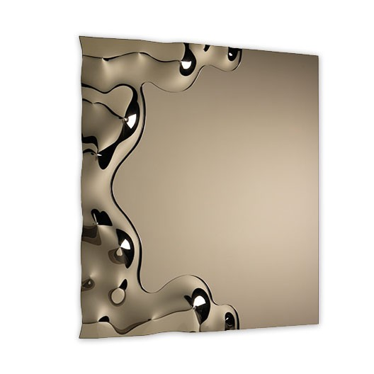 Bronzed moulded glass
