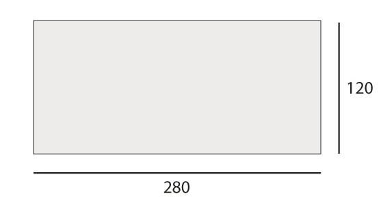 cm 120x280