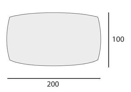 cm 100x200
